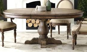 Solid Wood Round Dining Table Awesome Oak Room Marceladick Com Within 26