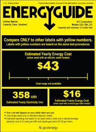 Are All EnergyGuide Labels The Same