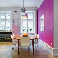 Sometimes What Makes An Accent Color Successful Is Simply Sheer Surprise Hot Pink Isnt Typically Found In A Kitchen And For That Matter Neither