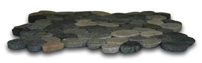 sliced bali pebble tile pebble tile shop