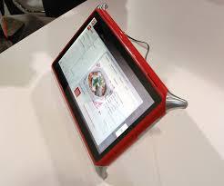 tablette cuisine qooq ces 2012 qooq une tablette française spécial cuisine ere