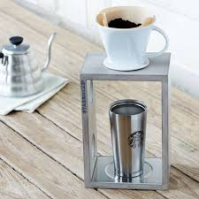 Starbucks By The Cup Pour Over Coffee Brewing System Grey Whitewash 2015 Amazon Top Rated Fermentation More Kitchen