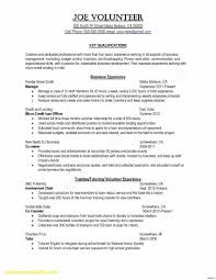 Financial Analyst Skills Resume New Financial Analyst Resume Lovely ...