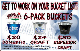 BUCKET O CANS 6 PACK