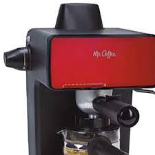 Mr Coffee BVMC ECM260R 4 Cup Steam Stainless Steel Espresso