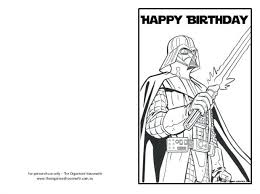 Angry Birds Star Wars Free Coloring Pages Rebels Lego Printable Happy Birthday Card
