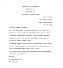 Sample Eviction Letter To Family Member