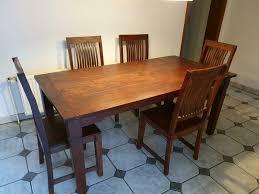 esszimmertisch mit 5 stühlen