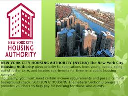 Housing for Foster Youth NY NY III NYCHA – Jumpstart Your Future Today