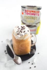 Mocha Coconut Iced Coffee