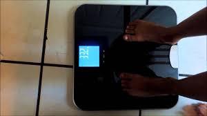 Eatsmart Precision Digital Bathroom Scale Manual by Eatsmart Get Fit Precision Body Fat Bathroom Scale Youtube