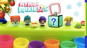 Mattel My Mini Mixie Qs Surprise Eggs With Blind Bag Bonus Opening