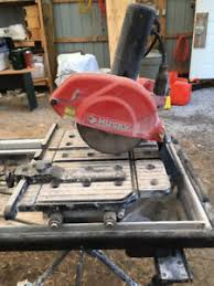 Husky Wet Saw Thd750l Manual by Husky Wet Tile Saw Wet Tile Saws Use Water To Cool A Diamond
