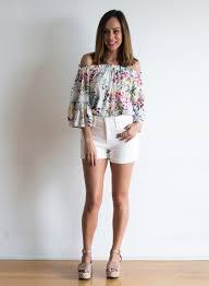 12 ways to wear white denim for summer 2017 summer fashion trends