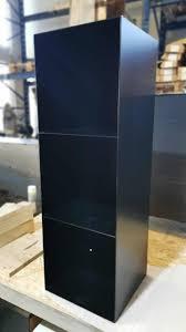stahlzart regal classic 018 schwarz metall stahl modern minimalistisch