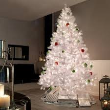 7 Ft White Pre Lit Christmas Tree by Christmas White Pre Lit Christmas Trees On Ebaywhite Tree Sale