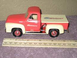 Vtg Replica 1953 Ford F-100 JC Whitney Diecast Truck Pickup Sixth ... Jada Diecast Metal 124 Scale Just Trucks 1999 Ford F150 Svt Shop Maisto F350 127 Truck With 2004 Flhtpi Cek Harga Welly 19834 F100 Tow 1956 Forrest Amazoncom Beyond The Infinity 0608 1940 Fire Texaco Red Pickup Black 118 Model By Motor Max 73170 New 125 Car By First Dimana Beli M2 Machines 1960 Vw Double Cab John Deere Vintage Industrial Sales Company Decal Hd Harley Davidson 1948 F1 Motorcycle 2001 Xlt Flareside Supercab Off Road White 1 Ford Transit Rac Recovery Truck 176 Scale Model