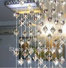 Glass Bead Curtains For Doorways by Crystal Bead Curtain For Partition Entranceway Home Decoration