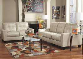 iDeal Furniture Farmingdale Paulie DuraBlend Taupe Sofa & Loveseat