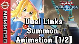 yu gi oh duel links summon animation as of nov 2016 youtube