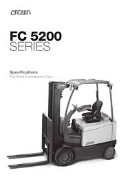 Forklift FC 5200 - CROWN - PDF Catalogue | Technical Documentation ... Electric Ordpicker Vertical Highlevel Sp Series Crown Stacker Truck With Rider Platform For Pallets Crown Fc4500 Forklift Service Manual Download The Pdf Fl1180 Rr522545 Reach Truck 24000 Warehouselift Vision System Rm 6000 And Rr 5700 Series Trucks Fleet Management Lift Fork Equipment Narrowaisle 5200 User Manual Crowns Esr Reach Servicefriendly Throu Flickr Doubledeep Pantograph Narrow Aisles Rd Walkie Rider Double Pallet Stacker Dt Single Toyota 2011 Rr572535 Aisle