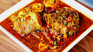 BANGA SOUP One Of The Several Traditional Natural Fruits That Play A Significant Role In West African Cuisine Is Fruit Which Comes From Palm Tree