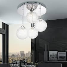 led decken hängeleuchte mit glaskugeln für ihren wohnraum
