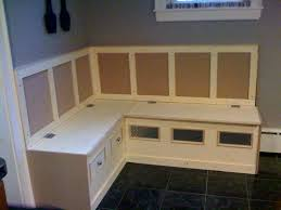 Corner Kitchen Booth Ideas by Mesmerizing Corner Kitchen Nook With Storage Simple Kitchen Decor