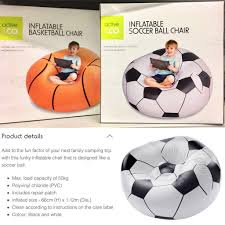 Inflatable Chair Soccer Ball Basketball Camping Kids Boy Fun ... Best Promo Bb45e Inflatable Football Bean Bag Chair Chelsea Details About Comfort Research Big Joe Shop Bestway Up In And Over Soccer Ball Online In Riyadh Jeddah And All Ksa 75010 4112mx66cm Beanless 45x44x26 Air Sofa For Single Giant Advertising Buy Sofainflatable Sofagiant Product On Factory Cheap Style Sale Sofafootball Chairfootball Pvc For Kids