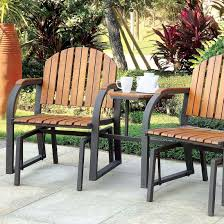 Perse, Outdoor Patio Rocking Chair Set W/ Table