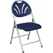 100 Blue Plastic Folding Chairs Set Of 4 Work Smart Chair FC8100NS7 SchoolFurniture4Lesscom