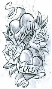 Drawn Tattoo Family Flower 13