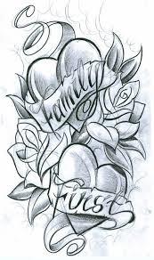 Drawn Tattoo Family Flower 13