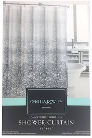 amazon com cynthia rowley ombre painted medallion fabric shower