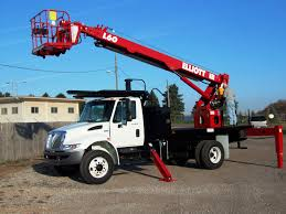 Truck-mounted Telescopic Boom Lift / Hydraulic - Max. 2 676 Kg, 18.9 ...