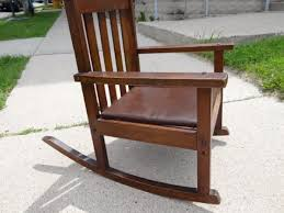 antique mission rocking chair inspirations home interior design