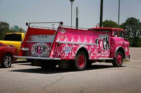 100 Pink Fire Trucks Women Rock Car Wrap City