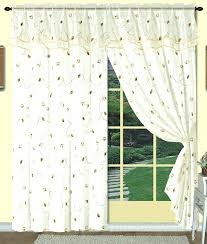 Priscilla Curtains With Attached Valance by Gorgeous Sheer Curtains With Valance Attached U2013 Muarju