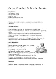 Housekeeping Resume Cleaning Sample Templates Job Description
