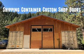 100 How To Build A House Using Shipping Containers Container Shop Custom Door Making With Metal