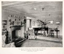 100 Drawing Room Furniture Images 1926 Print Interior Court Broadway England Guy XDD2