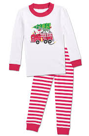 From CWDkids: Holiday Fire Truck Pajamas | Charlie Christmas 2014 ...