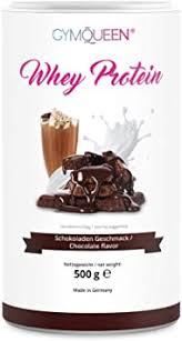 gymqueen whey protein pulver schokolade 500g protein shake