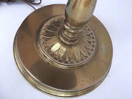 Stiffel Floor Lamp Vintage by Vintage Stiffel Brass Tabletop Floor Lamp Original Signed 56