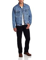 Wrangler Mens Rugged Wear Unlined Denim JacketVintage IndigoMedium