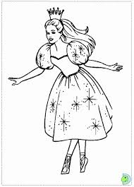 Barbie Nutcracker Movie Coloring Page To Print