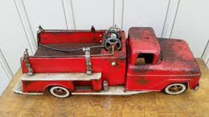 Tonka Fire Truck (as Found Condition) - Schmalz Auctions Tonka 1964 Fire Truck Hydrant 100 Original Patina One Owner Nice Vintage 1955 Tonka No 950 6 Suburban Pumper Fire Truck With Fire Truck On Shoppinder Metal Firetruck Vintage Articulated Toy Superior Auction 5 Water 1908254263 Suburban 1963 Paint Real Dept Hose Ladder Tfd A Sliding Ladder Vintage Toys Hydrant Wwwtopsimagescom Toys 1972 Aerial Photo Charlie R Claywell
