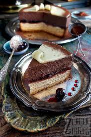 baumkuchen torte mit amarena schoko und marzipan zungenzirkus