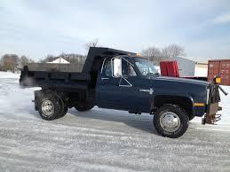 100 4x4 Dump Truck For Sale 1988 Chevy K30 1 Ton Dump W Plow 55000 Miles NO RESERVE