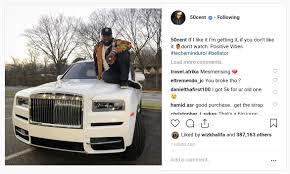 100 Rolls Royce Truck See The 50 Cent Just Bought After Fans Complained